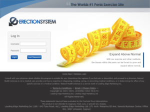 Erection System