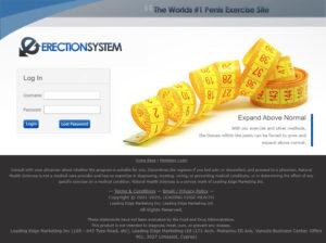 Erection System